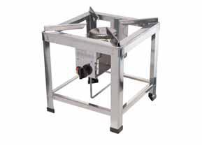 stoličkový gastro plynový vařič 40x40x42 10 kW