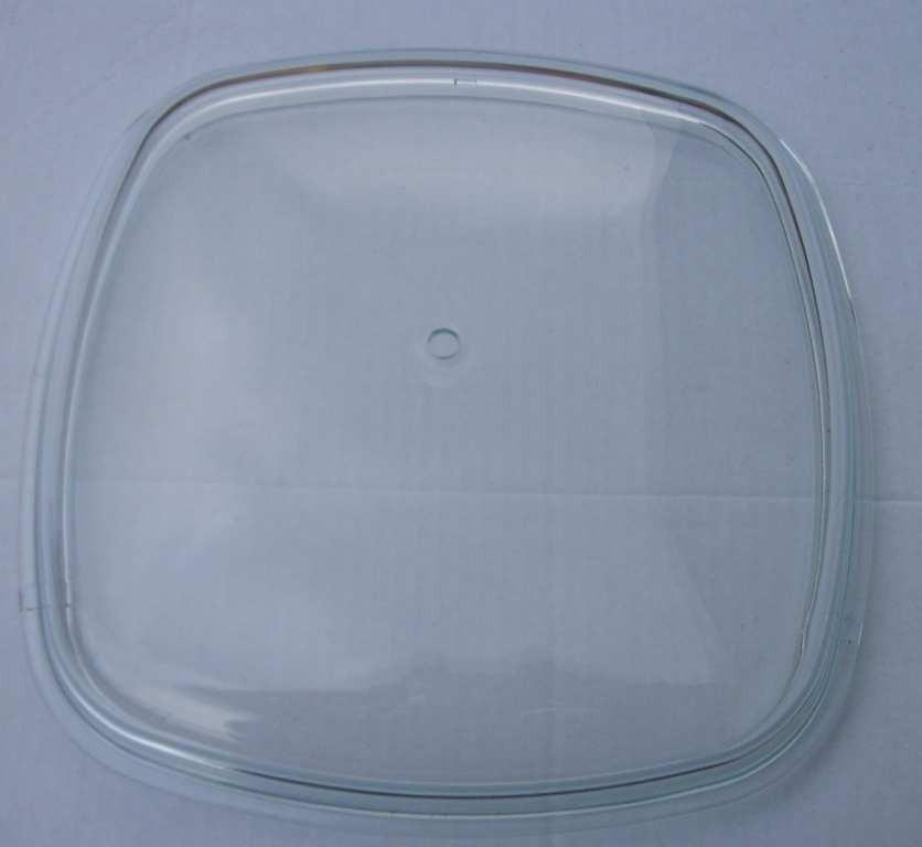 pyrexové víko  26x26 cm SKK  pouze sklo