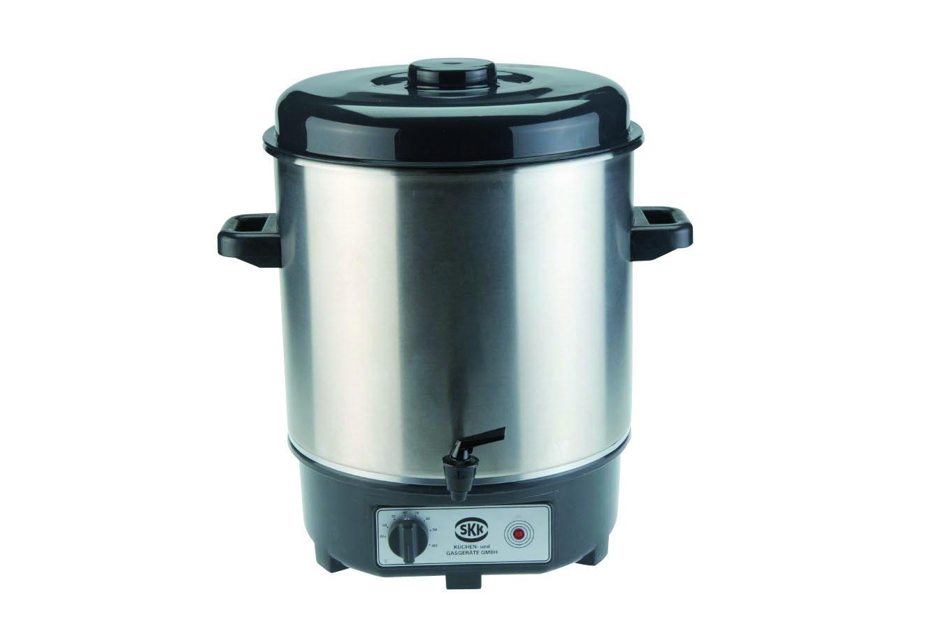 SKK profesionální hrnec na svařené víno či polévku 350/420 mm 28 litrů nerez